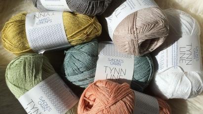 Sandnes Tynn Line - Pehmeä sekoitus puuvillaa, pellavaa ja viskoosia